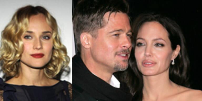 Ist Angelina Jolie eifersüchtig auf Diane Kruger?