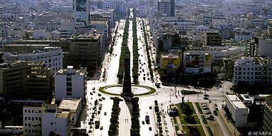 Die Avenue Bourguiba in Tunis