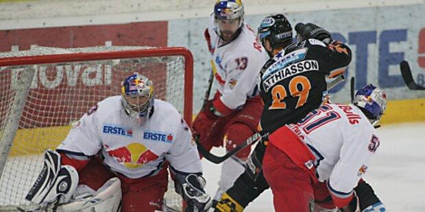 Salzburg und Linz am Sonntag um ersten Matchpuck
