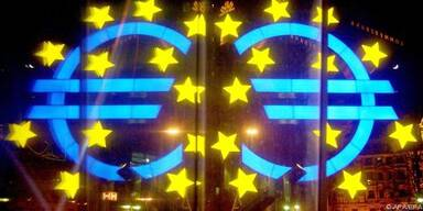 Die EZB beobachtete einen starken Rückgang
