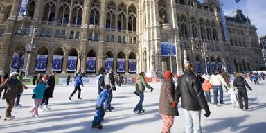 Die Eislauf-Saison in Wien hat begonnen