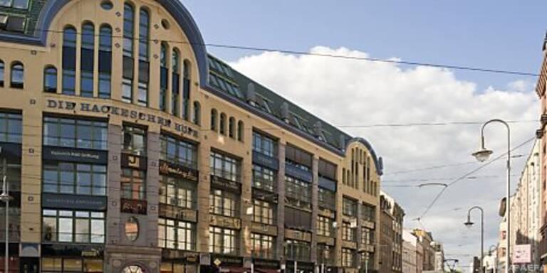 Die Hackeschen Höfe in Berlin Mitte