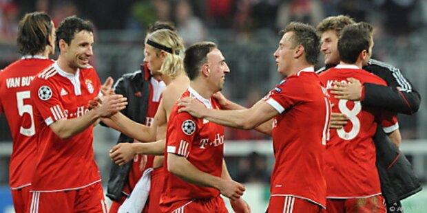 ManU benötigt gegen Bayern einen Sieg
