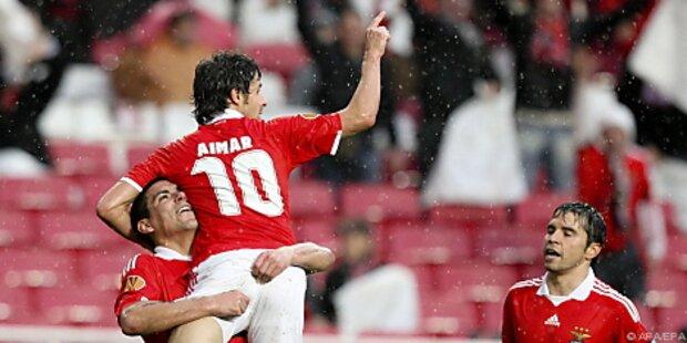 Europa League: Benfica überrollte Hertha BSC