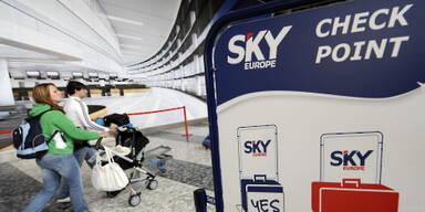 Die SkyEurope-Maschine bleibt weiter gepfändet