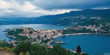 Die Stadt Sinop mit ihrem schönen Naturhafen