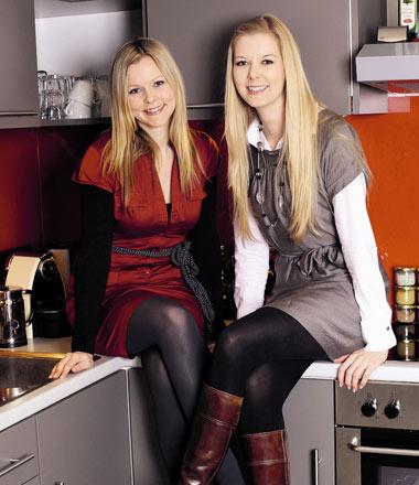 """Die """"Päbstinnen"""" der gesunden Küche: MADONNA-Expertinnen Julia (links) und Ursula Pabst."""