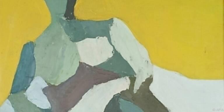 """Die """"Sitzende Figur"""" von Maria Lassnig"""