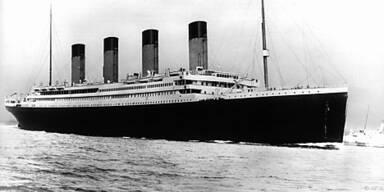 Die 'Titanic' sank am 15. April 1912