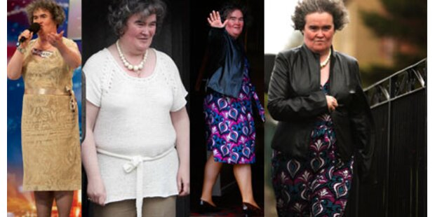 Die Verwandlung der Susan Boyle