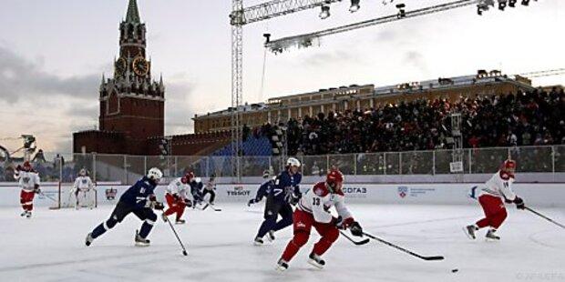 Tschechisches Eishockey-Team vor Einstieg in KHL