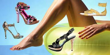 Die schönsten Sommer-Schuhe