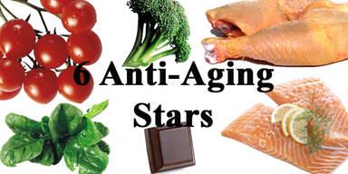 Die sechs Anti-Aging Stars