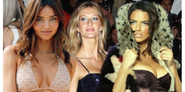 Das sind die teuersten Models der Welt