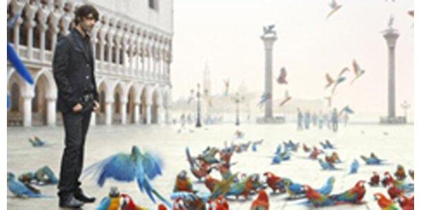 Papageien auf dem Markusplatz