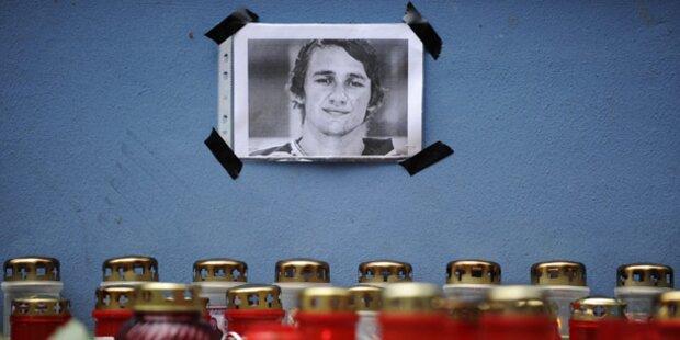 Jaroslawl: Gedenken an Eishockey-Team