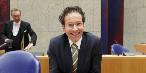 Dijsselbloem neuer Eurogruppen-Chef
