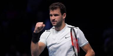 Bulgare Dimitrow gewinnt ATP Finals