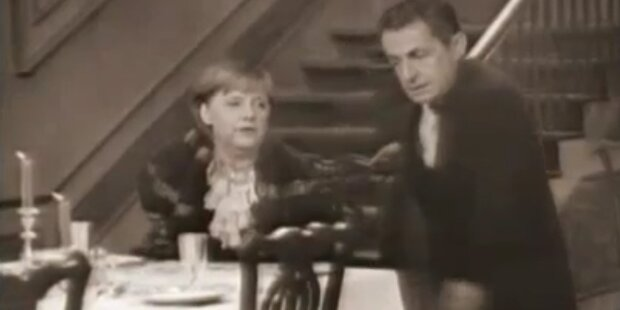 'Dinner for one' mit Sarkozy und Merkel