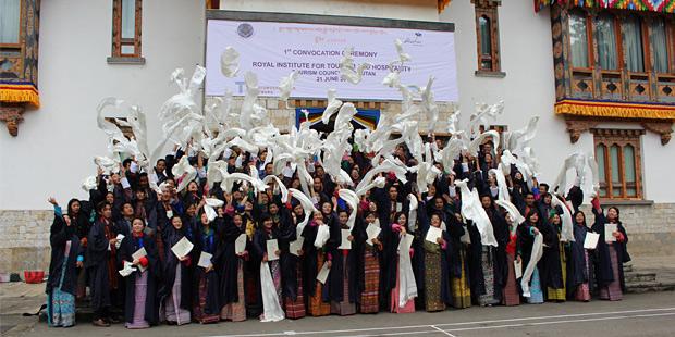Tourismusschule in Bhutan