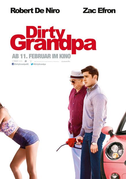 """Zac Efron & Robert DeNiro in """"Dirty Grandpa"""""""