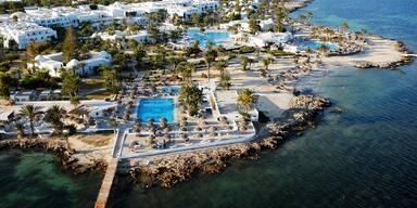 Tunesien entdecken - Strand 2, Hotelanlage
