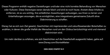 Disney warnt vor eigenen Kinderfilmen