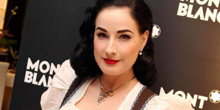 Dita von Teese in Salzburg verliebt