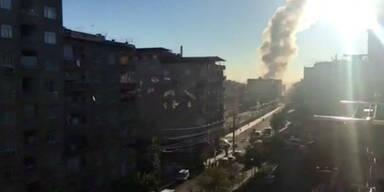 Türkei: Ein Toter bei Bombenanschlag vor Polizeigebäude