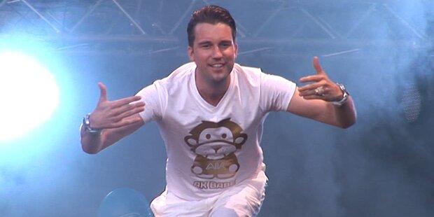 DJ Antoine rockte das DIF 2012