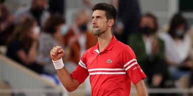 Djokovic kämpft sich ins French-Open-Finale