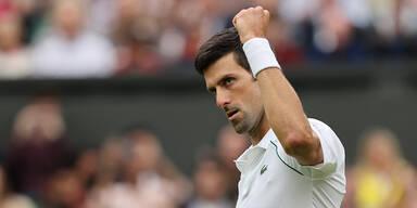 Djokovic mit holprigem Start in Wembley