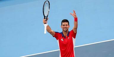 Djokovic stürmt souverän ins Halbfinale