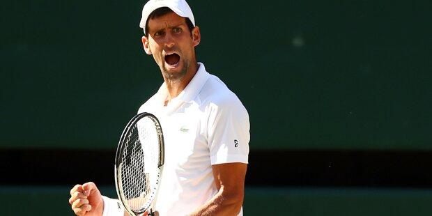 Djokovic zum vierten Mal Wimbledon-Champion