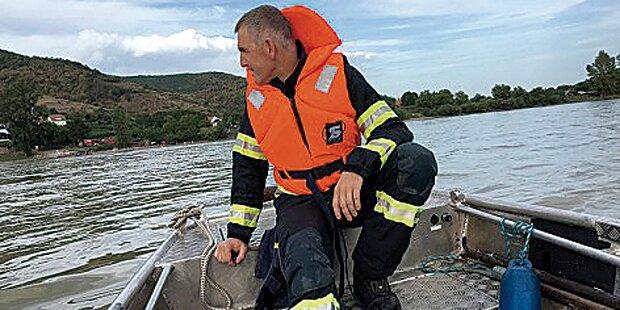 Schwimmer ertrank in Donau