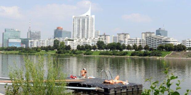 Radfahrer auf Donauinsel überfallen