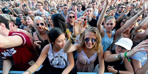 3 Millionen feiern auf Donauinsel