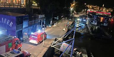 Zwei Flüchtlinge retten Partygirl aus Donaukanal