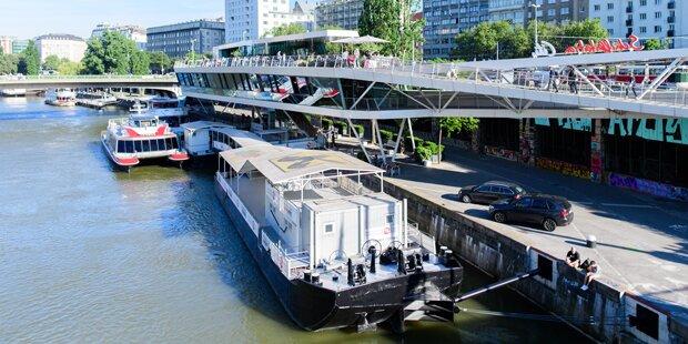 23-Jähriger schlägt Frau und springt in Donaukanal