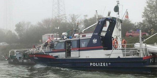 Schubverband rammt Donaurollfähre bei Klosterneuburg