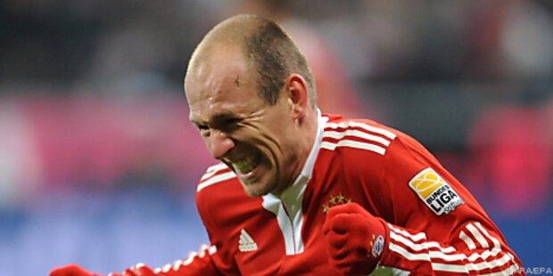 Robben-Doppelpack rettete Bayern gegen Freiburg