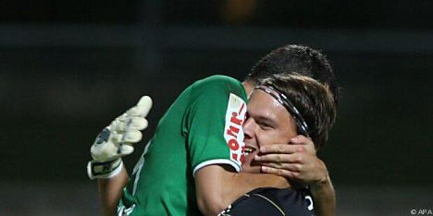 Ried feierte 3:1-Sieg bei Drechsel-Abschied
