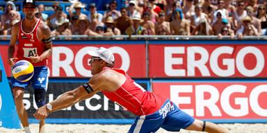 Hammer-Lose für Beachvolleyball-Duos