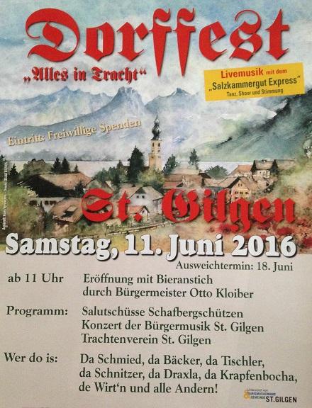 Dorffest St. Gilgen