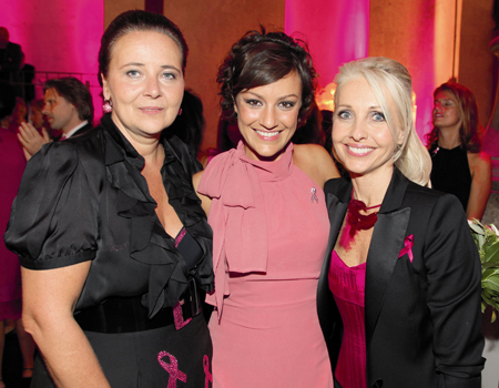 Doris Kiefhaber, Miriam Pielhau und Uschi Fellner