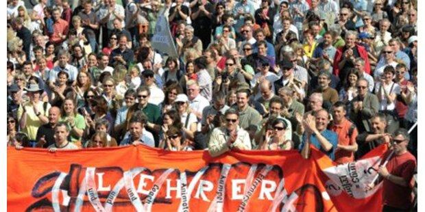 Wenig Beteiligung an Protest in Dornbirn