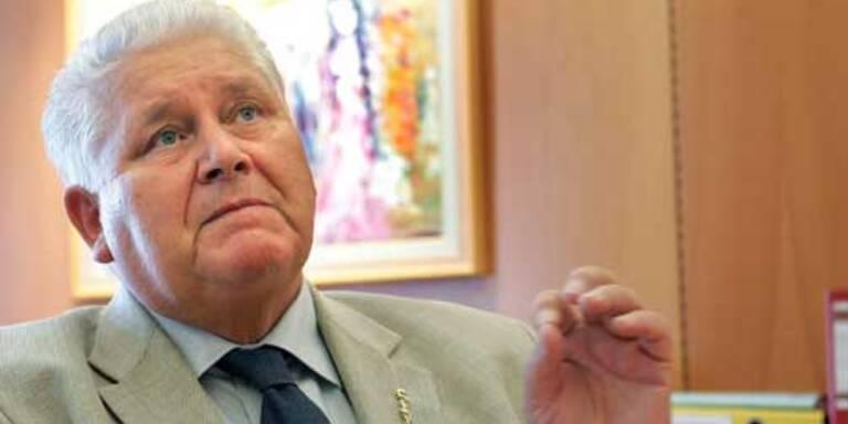Ärztekammer-Präsident Walter Dorner