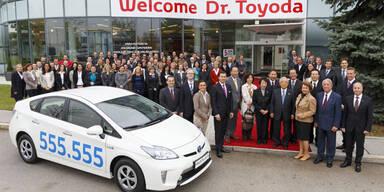 555.555 Toyota in Österreich verkauft