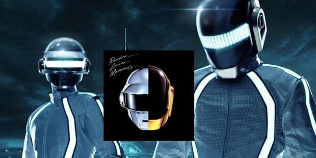 Daft Punk recyceln sich mit neuer Platte