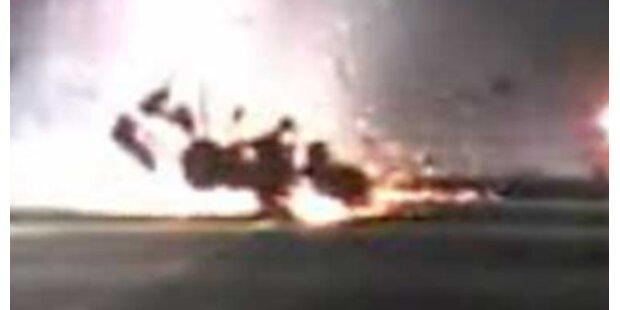 Wie konnte der Pilot diesen Horror-Crash überleben?
